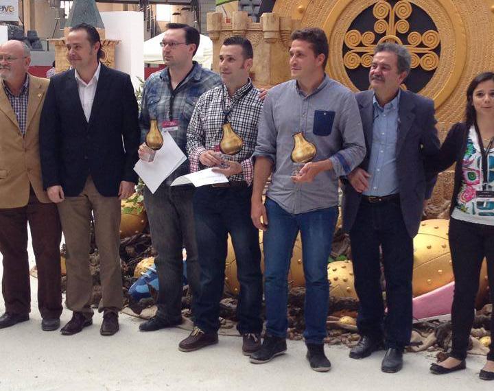 ganadores Concurso Nacional de Jóvenes Enólogos Vinouvelle 2014